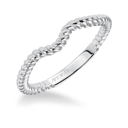 Serina Wedding Band by ArtCarved