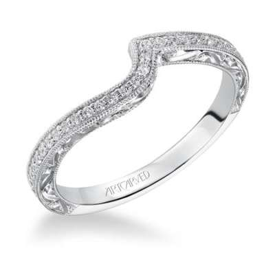 Rima Wedding Band by ArtCarved
