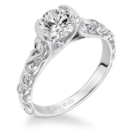 Violette Engagement Ring by ArtCarved